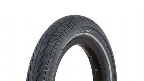 "FIT 12"" Tyre 2.10"" Black with Night Vison Strip"